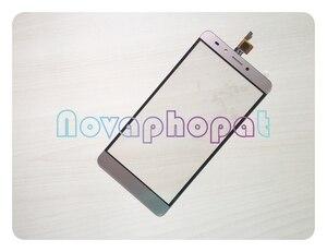 Image 3 - Novaphopat сенсорный экран в золотом цвете для Infinix Note 3 X601 сенсорный экран дигитайзер сенсор сенсорная панель стекло замена экрана