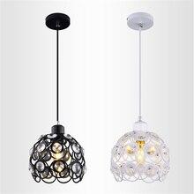 Lights Lighting - Indoor Lighting - Retro Vintage Modern Minimalist Restaurant Pendant Lamp Creative Personality Crystal Pendant Light For Bedroom Coffee Shop
