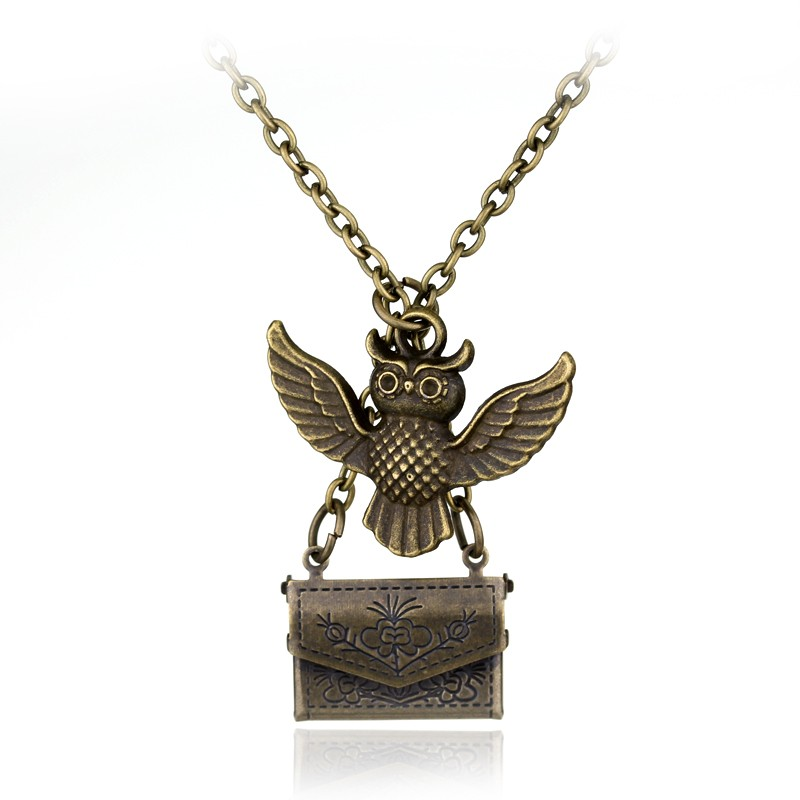 Harry Pottar Animal Necklace Movie Fans Potter Retro Magical Animal Pendants Gifts For Children
