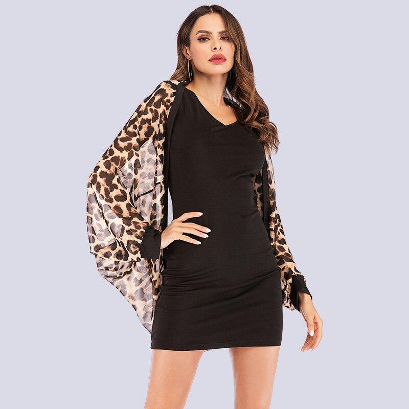 Sexy Leopard Kimono Cardigan Women Fashion Chiffon Blouse Leopard Print Tops Casual Loose Batwing Long Sleeve Blusas Mujer 2019 blusa sexi animal print