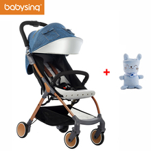 Babysing Lightweight Stroller 1S Fold Portable Traveling Stroller Can Take to Plane & 3D Design Soft Baby Blanket