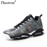 Hot Sell 2019 New Sport Shoes Men Basketball Shoes High Top Athletic Trainers Red Blue Gym Boots Leather Basketball Trainer Men