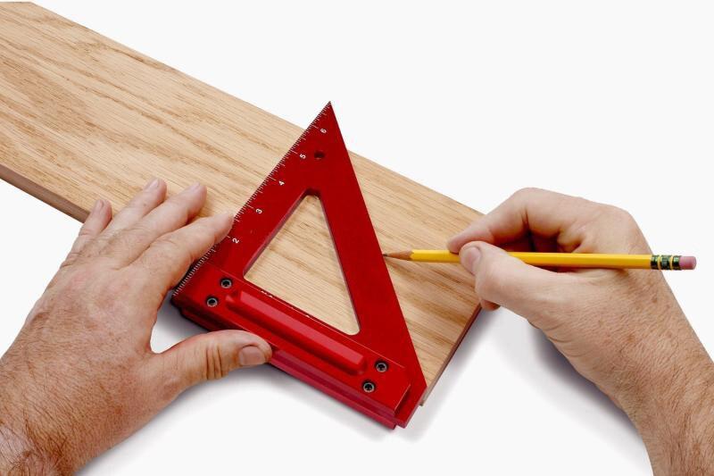все цены на Good quality Aluminum woodworking crossed triangle ruler,gauge tool онлайн
