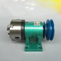 Lathe spindle assembly with flange connection plate transition plate 80/125/160/200 spindle three jaw four jaw chuck|Machine Tool Spindle| |  -