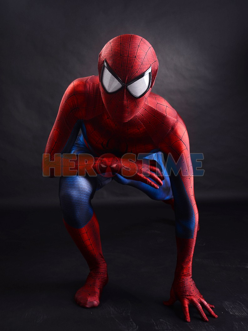 Newest-Classic-Spider-man-costume-3D-Printing-Superhero-Costume-2