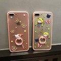 2017 card captor sakura anillo case para iphone 7 7 sailor moon más 6 6 s 6 más tpu + plastic back case funda cubre el envío libre