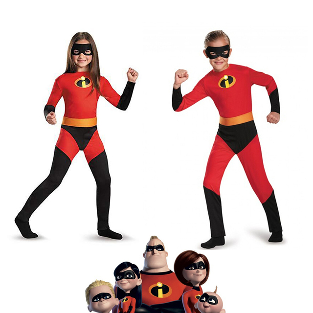 The Incredibles 2 Cosplay Kids Costume Violet Parr Dash Parr Spandex Super  Hero Jumpsuit Bodysuit Boys Girls Halloween Gifts c03178de77b8