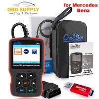 Creator C502 OBD2 Diagnostic Scanner Diagnostic Tools for Mercedes Benz W211 W203 W124 Auto OBD 2 Autoscanner Code Reader
