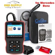 Создатель C502 OBD2 диагностический сканер Средства диагностики для Mercedes Benz W211 W203 W124 Авто OBD 2 Автосканер код читателя