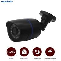 H.265 2MP IP Audio Camera Outdoor Record Sound Waterproof Outdoor ABS Case ONVIF Security IP Camera