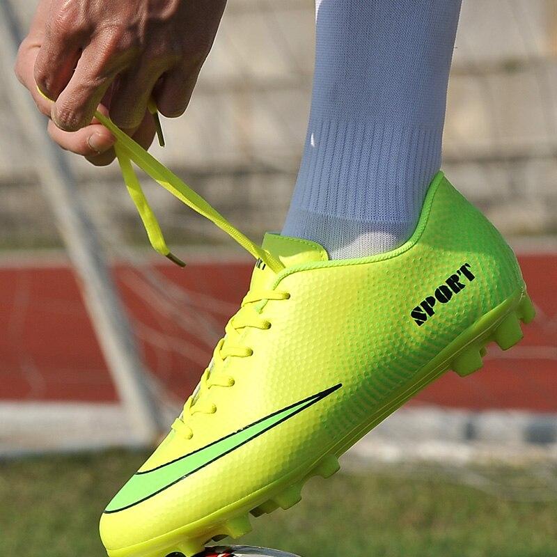 6054a95d656b8 Superfly Tacos de Fútbol Indoor Futsal Botas de Fútbol Zapatillas de deporte  de Los Hombres Baratos Zapatos de Fútbol Con Botines en Zapatos de fútbol  de ...