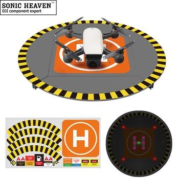 Drone Landing Pad for DJI Mavic Pro Spark Phantom 2 3 4 Pro Detachable Hard Plastic LED Lights 15