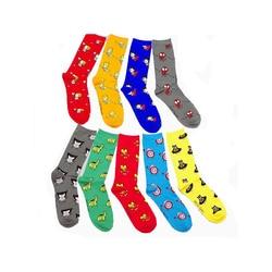 Fashion cotton jacquard socks superhero pattern cartoon men funny candy colored socks for women.jpg 250x250