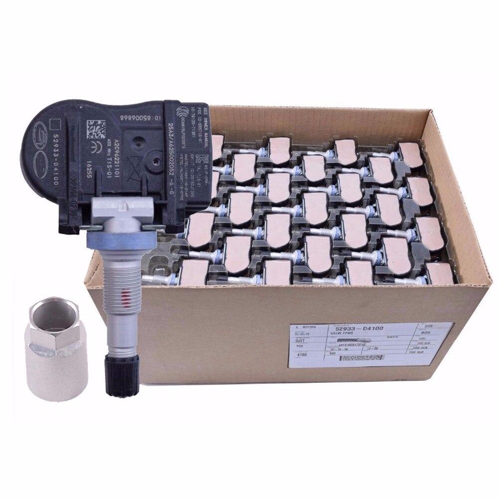 Brand New Genuine Tire Pressure Sensor 52933-D4100 TPMS For Optima Sportage Sorento Genesis Ioniq Niro VELOSTER G90 52933D4100