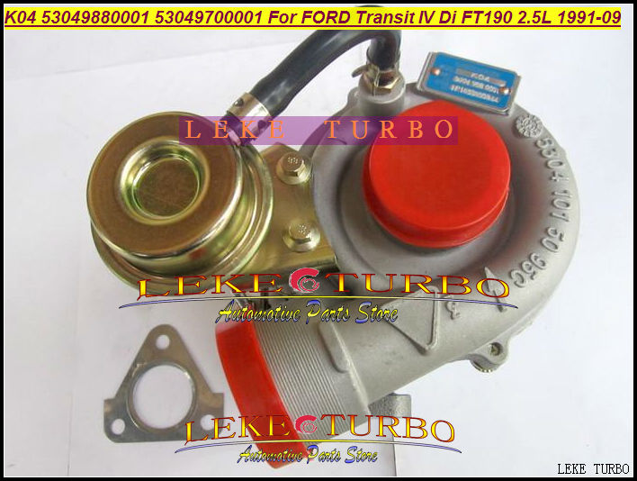 K04 01 53049880001 53049700001 5304-988-0001 Turbo Turbocharger For FORD Transit IV FT190 1991-09 100HP 4EA 4EB 4HC 4GB 4GC 2.5L
