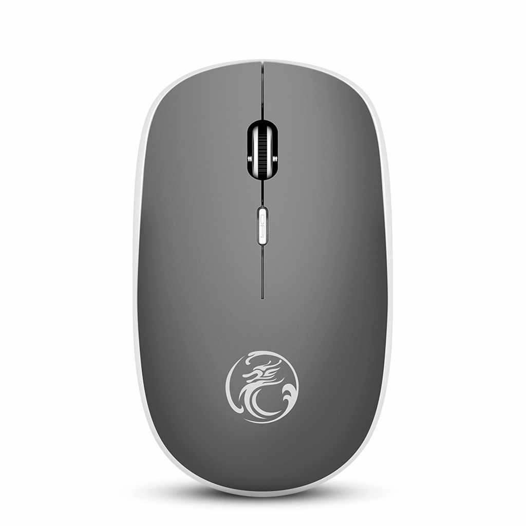 IMice G-1600 لاسلكي بصري الألعاب ماوس صامتة هادئة الفئران USB اللاسلكية سليم ماوس للكمبيوتر الدفتري المحمول