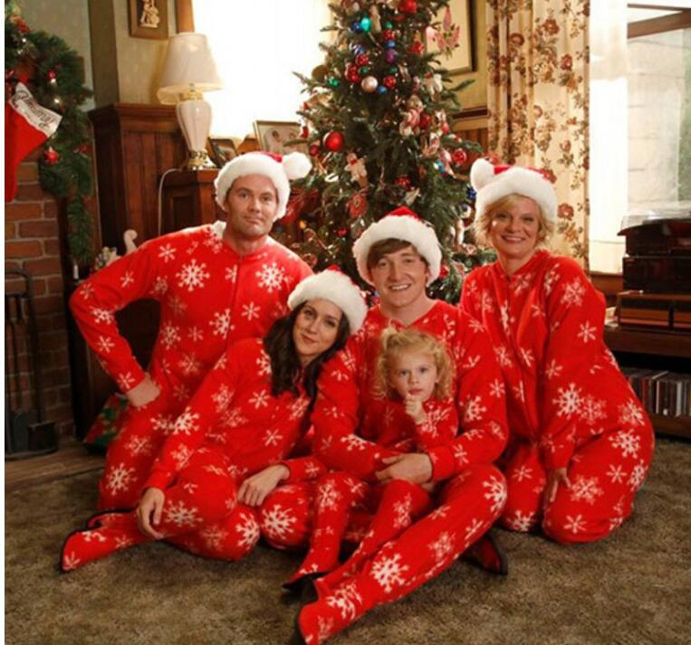 New Years Clothes For Family Christmas family costumes Adult Kids Baby Moose Nightwear Family Match pajamas Set