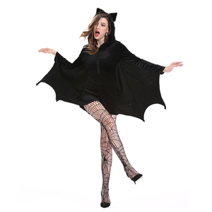 Image 5 - Batman Costumes Adult Sexy Women Dress Carnival Disfraz Mujer Halloween Costume for Women Fancy Party Dress Cosplay Nightclub
