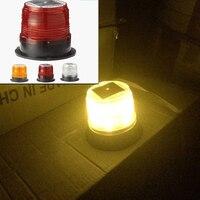LED Solar Warning Light Car Burst Flash Warning Lights Traffic And Road Safety Warning Lights Marine
