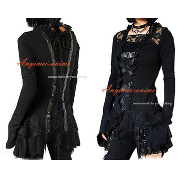 Gothic Lolita Punk Fashion Shirt Cosplay Costume Tailor-made[CK991]