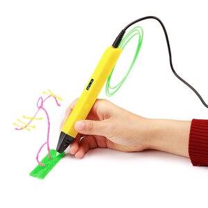 Image 3 - Lihuachen pluma de impresión 3D con pantalla OLED, profesional, dibujo para garabatear 3D, arte, manualidades, juguetes educativos, RP800A