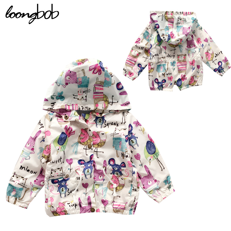 Aliexpress.com : Buy Spring Baby Girl Graffiti Outerwear Infant ...