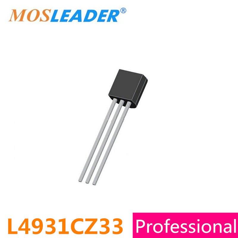 Mosleader Dip L4931CZ33 TO92 100PCS Original L4931CZ L4931 High quality