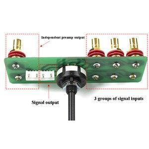 Image 2 - LORLIN UK 2 kanal 3 speed audio eingang selector schalter kupfer überzogene silber quelle auswahl DIY kit für hifi verstärker A10 009