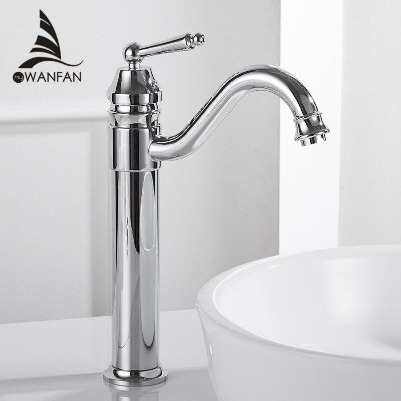 Смесители для умывальника Позолоченные бортике Смесители для ванной комнаты латунь Ванная комната смесители кран Torneira одной ручкой кран …