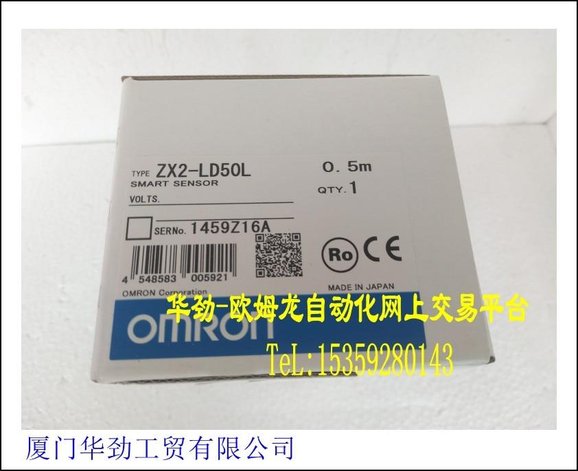 ZX2-LD50L 0.5m OMRON Laser Intelligent Sensor original Product New spotZX2-LD50L 0.5m OMRON Laser Intelligent Sensor original Product New spot