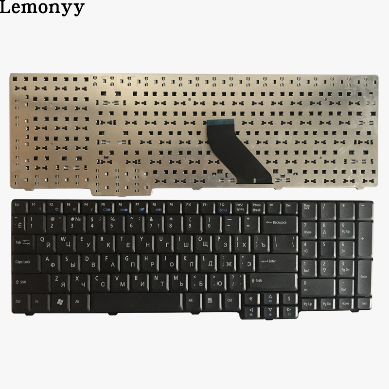 Russian Keyboard for Acer TravelMate 5100 5110 5600 5610 5620 eMachines E528 E728 RU Black laptop keyboard