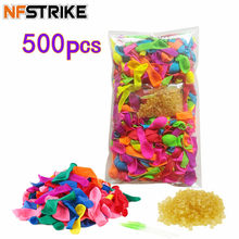 500Pcs Funny Water Balloons Toys For Kids Adults Children Beach Party Outdoor Refill Kit + 500pcs Rubber Bands+ 2 Replace Tools(China)