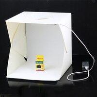 30 30 30cm Portable Folding Studio Light Box Photography Studio Foldable Softbox With Black White Backgound