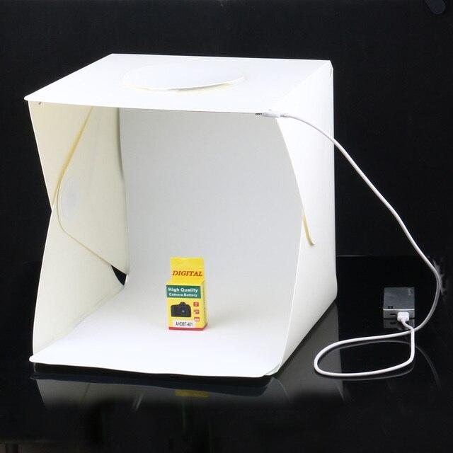Portable Product Photography Studio With Lighting: Aliexpress.com : Buy 30*30*30cm Portable Folding Studio