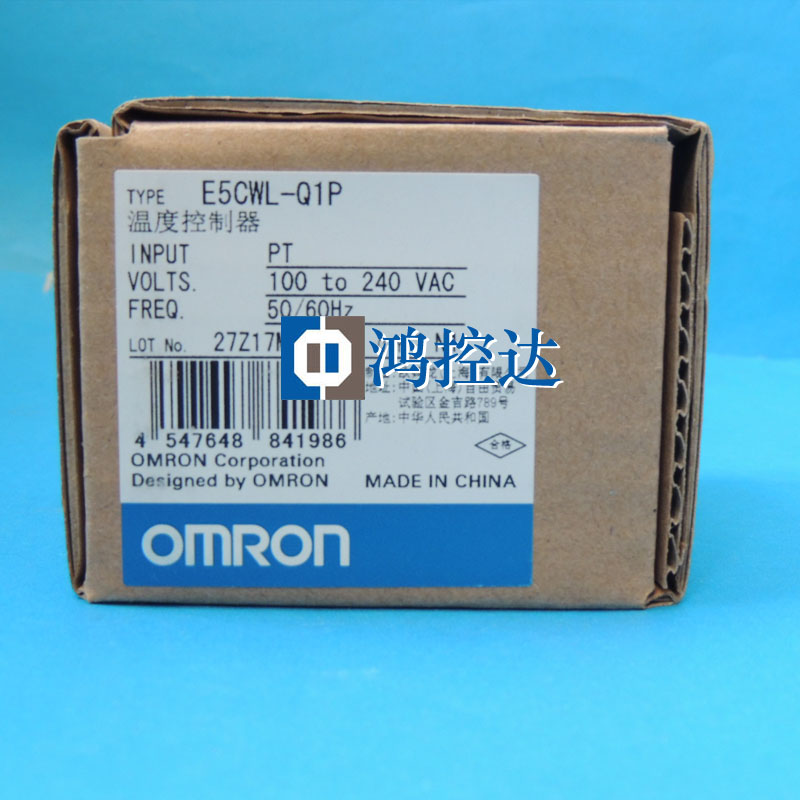 New Original OMRON thermostat E5CWL-Q1PNew Original OMRON thermostat E5CWL-Q1P