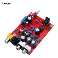 YJ0085 HiFi TDA1543 + CS8412 DAC Audio Decoder BoardOP AMP Decoding Decode Circuit Module for Amplifier