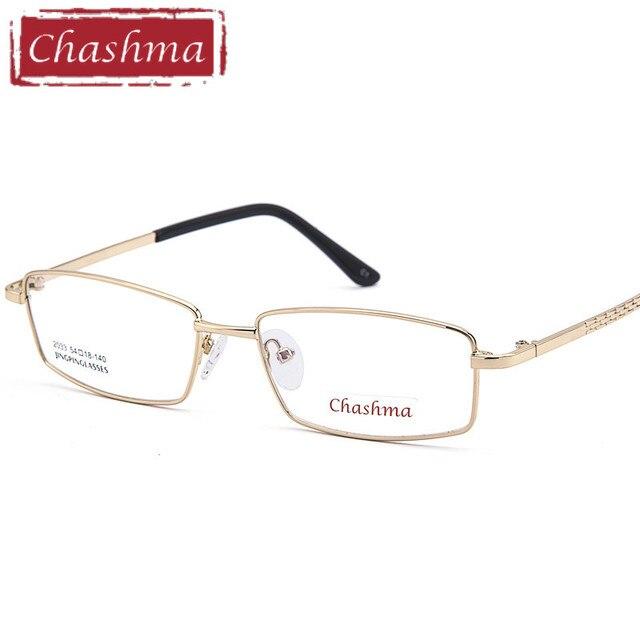 0c54f8ff1f038 Chashma Liga Marca Armação Dos Óculos Moda Masculina Óculos Ópticos Óculos  de Armação Full Frame Ótico