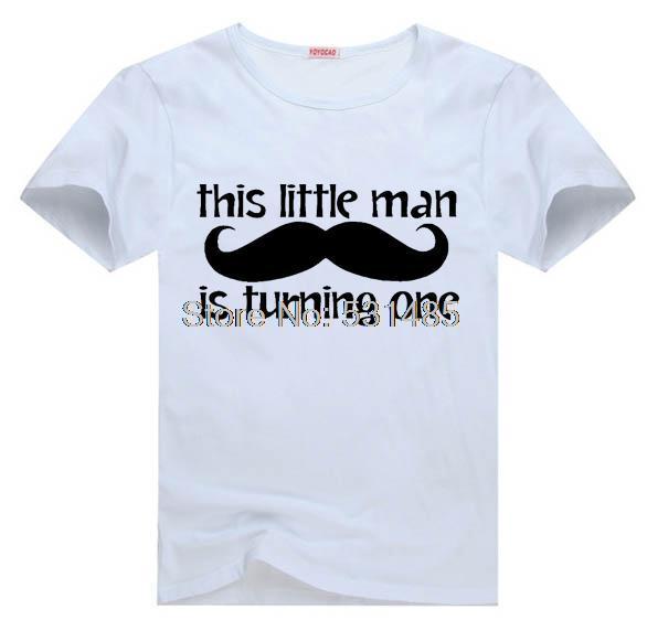 New 1e verjaardag dit kleintje is het draaien van een t stuk t shirt #EY85