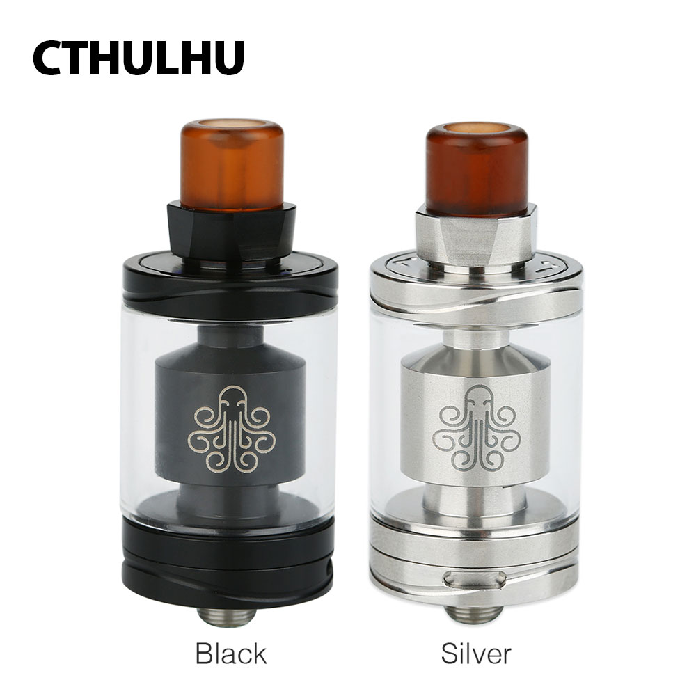 Original Cthulhu Hastur MTL RTA 3.5ml Capacity Mouth to Lung Cthulhu Hastur Atomizer Suit Cthulhu MOD 510 Drip Tip E-cig Tank