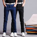 High Quality Cotton Chino Pants Straight Men Pants  Slim Men Trousers Casual Pants
