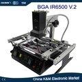 Frete Grátis LY IR6500 V.2 BGA estação de retrabalho reparação da máquina laptap atualizado maior área de pré com conector USB