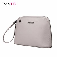 Genuine Leather New Women Evening Clutch Purse Luxury Designer Handbag Clutches Fashion Shell Style Mini Shoulder