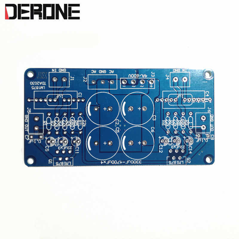 LM1875 LM1875T LM675 TDA2030 TDA2030A  Power Amplifier PCB for Audiophile DIY