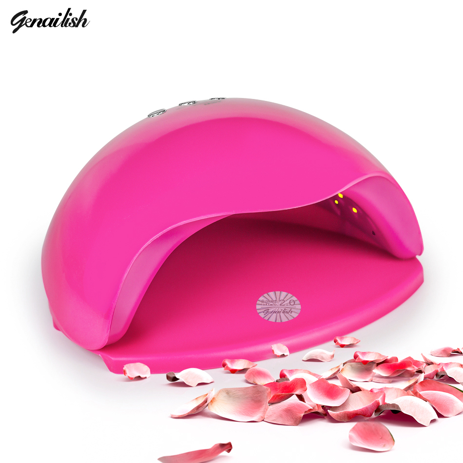 genailish SUN5X UV Lamp LED Lamp Nail Dryer 48W Nail Lamp Double light Auto Sensor Manicure Machine for Curing Nail Gel Polish