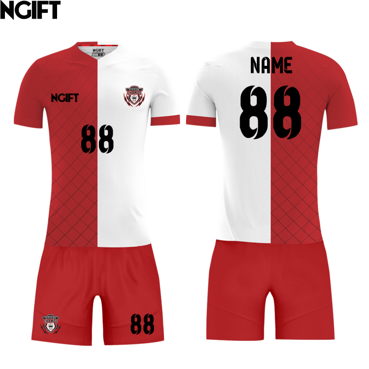 75e9626be82 Ngift custom wholesale football jersey china cheap custom soccer jersey for  men-in Soccer Sets from Sports   Entertainment on Aliexpress.com