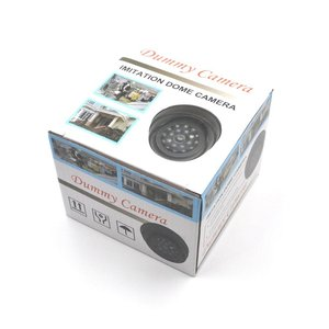 Image 5 - 屋外cctv偽のシミュレーションダミーカメラホーム監視セキュリティドームミニカメラ点滅ledライトフェイクカメラ黒