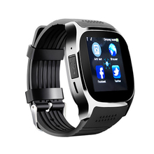 Smart watch Bluetooth touch screen camera SIM call reminder sports step counter multi-function message push bracelet T8