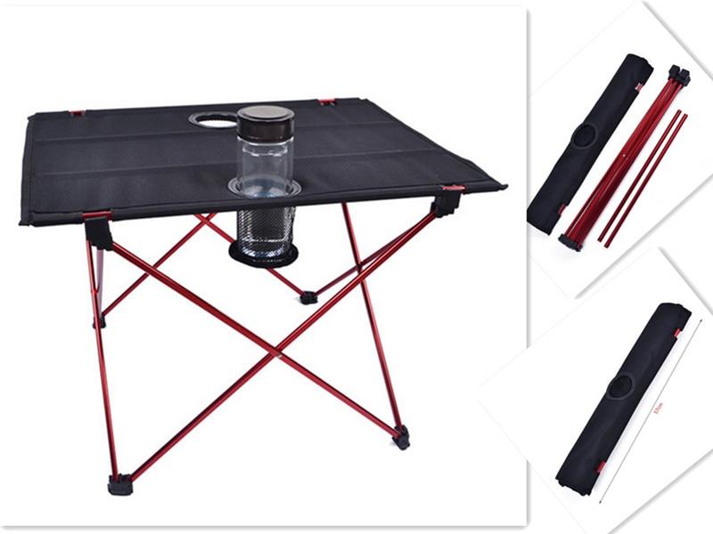 Rendkívül könnyű! Hordozható kültéri asztali alumínium - Bútorok - Fénykép 3