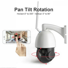 18X Optical Zoom 1080P Wireless PTZ Dome IP Camera WIFI Outdoor CCTV Security Video Camera Audio Talk Speaker 60m Night Vision