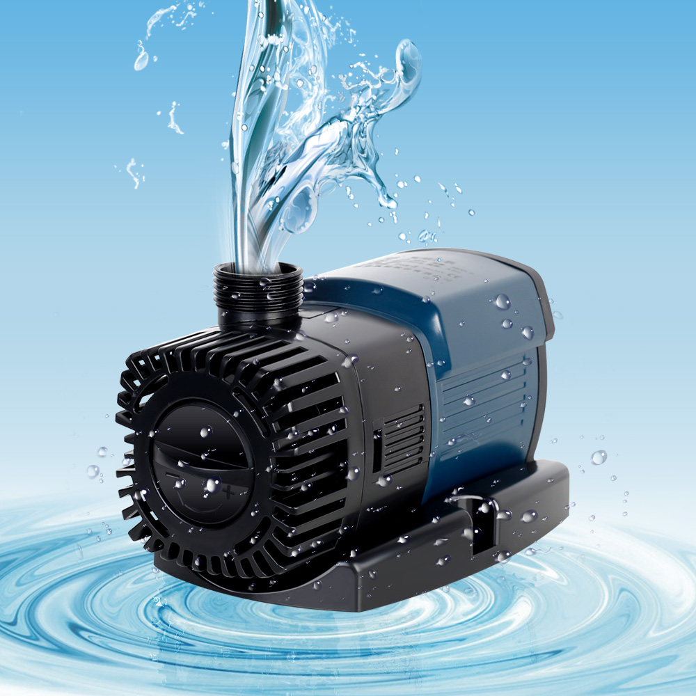 SUNSUN JTP-5800 Regolabile Acquario Pompa Acqua Pompa di Circolazione di Coltura Idroponica Stagno Sommergibile Fontana di Acqua Rocaille Pompa 5800L/h